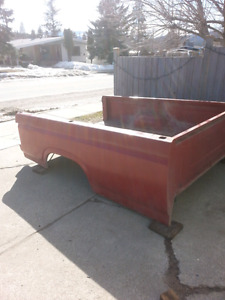 1984 f150 parting out disassembled  no rust box  and front end