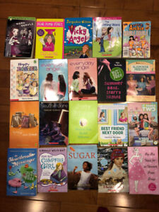20 assorted chapter books for tween girls!