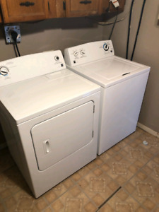 EUC kenmore washer and dryer