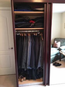 Amazing Wardrobe / Closet Cherry brown hardwood