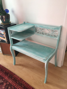 Vintage telephone table/bench - STILL AVAILABLE
