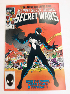 Marvel Secret Wars 1-12   1st Black Spider Man