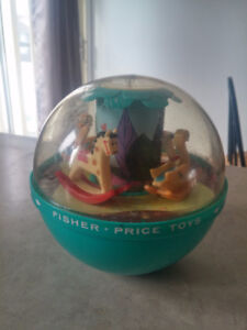 Vintage Roly Poly chime Ball