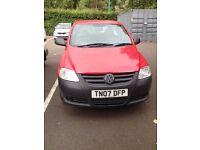 Volkswagen fox - 07 plate - long mot - good runner & cheap mpg & insurance