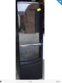 BLACK HOTPOINT FRIDGE FREEZER DELIVERY AVAILABLE