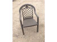 Garden chairs,