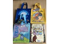 4 X CHILDRENS BOOK COLLECTIONS - NEW: GRUFFALO ACTIVITY PACK, DAISY DUCK, People who help us & more!