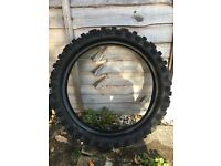 Motocross Tyre rear Bridgestone M70 (100/90-19 good condition