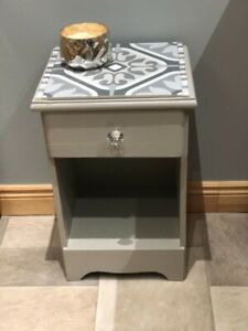 Beautifully hand painted accent table