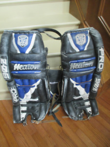 Heaton Pro 90Z Goalie Pads for sale - 34""