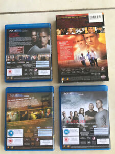 Movies Prision Break Season 1 to 4