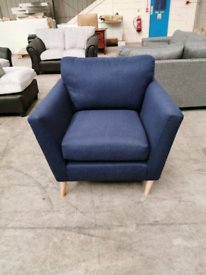 Brand new Navy armchair from Marks and Spencers