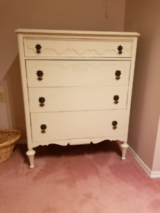 Solid Wood Dresser and Night Table
