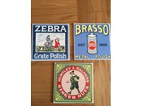 3 pilkington advertising tiles - over 25 years old - £15 for all 3