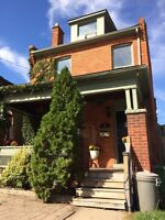 2 Bdrm apartment in house, close to Locke and Hess