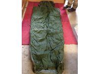 Sleeping bag British army water proof base down