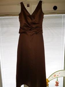 Ladies size 12 elegant custom made dress