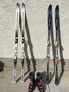 2 Pairs Of Skis+Boots (Sale)
