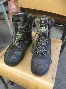 Steel toed hunting boots brand new