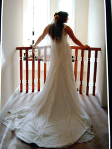 Wedding dress for sale (veil included)