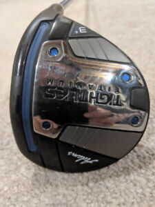 Adams Tight Lies Ti, 3+ and 5 wood and Tight Lies 2 Hybrid 19*