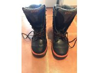 RANGET GTX DYNAMIC STIHL LEATHER CHAINSAW BOOTS SIZE 44 , HAMPTON !!!