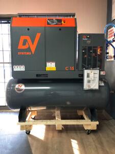 Compresseur Dv System 15 Hp à vis Air system