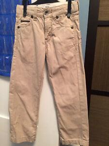 HUGO BOSS Kid's Pants in Khaki Colour, Size 5, LIKE NEW! Edmonton Edmonton Area image 1
