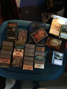 Magic the Gathering cards - 29 ready to play decks - Many rares!