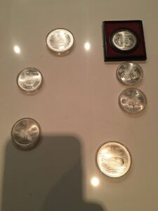 Olympics Montreal coins 1976