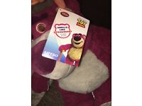 Toy story strawberry smelling Lotso bear