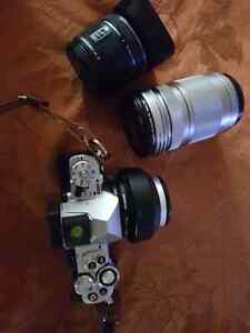Trade:Olympus OMD EM5 mkii with lenses