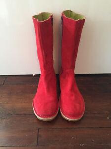 Belles bottes rouges de marque Camper grandeur 40 (8.5-9)