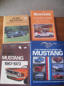 1964 and up Mustang books