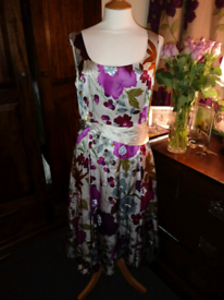 Laura Ashley Silk Dress