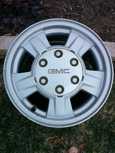 2005 GMC Canyon Factory Aluminum Rims/Center Caps-4