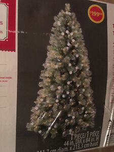 Pre-Lit (7 Ft.) Artic XMAS TREE - Discounted