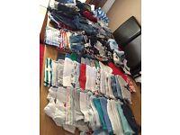 BARGAIN!! Around 115 very good condition 0-3 month boy clothes.