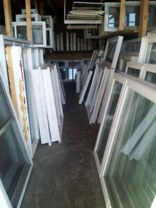 1800 IN STOCK NEW & USED WINDOWS & DOORS