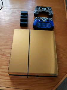 PS4 500GB w/ 18 Games and two controllers
