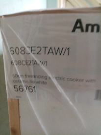 Amica free standing cooker
