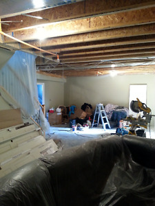 VERY ACCESSIBLE PRICES BASEMENT DEVELOPMENT,COMPLETE RENOVATION