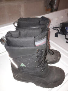 Size 10, steel toe Workload CSA boot