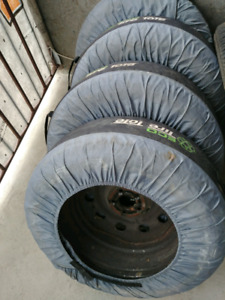 4Winter tires in a great condition for sale