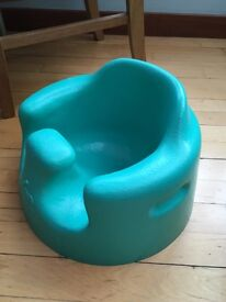 Bumbo Childs seat in aqua blue