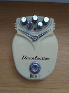 Danelectro Daddy-O distortion pedal