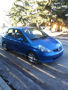 2007 Honda Fit Base Model With Air