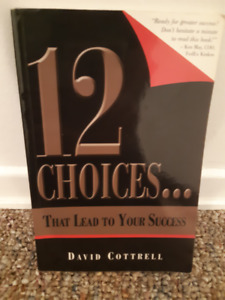 USED BOOK - 12 Choices that leads to your success