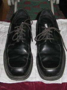Rockport  Men's Black Leather Dress Shoes