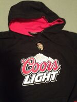 New Coors Hoodie Large